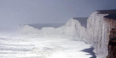 Beachy Head i stormvejr