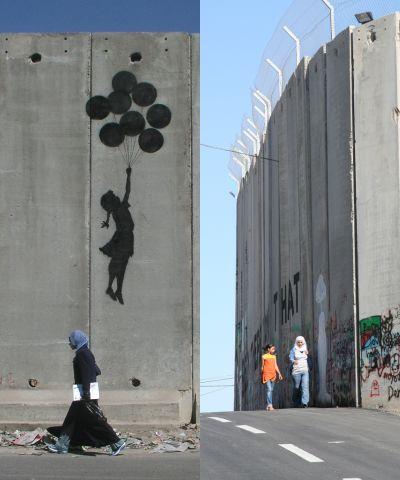 Betontæppet med graffiti