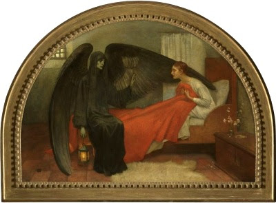 Death and the Maiden by Marianne Stokes