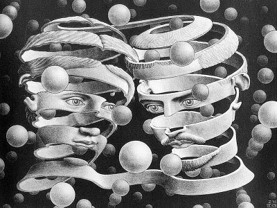 Bond of Union by M. C. Escher