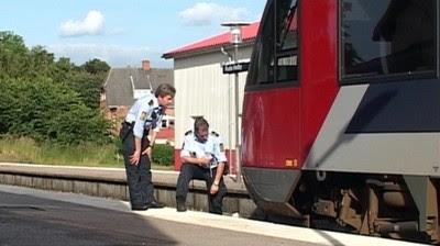Politiet undersøger tog efter påkørsel i Ruds Vedby