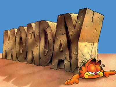 Garfield monday