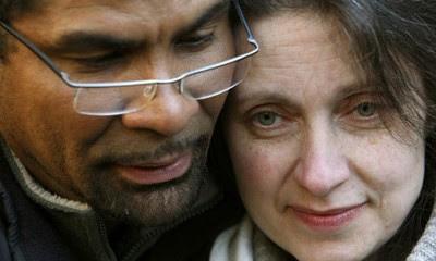 Omar Puente og Debbie Purdy