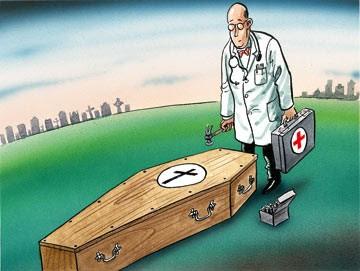 Læge slår sidste søm i ligkisten