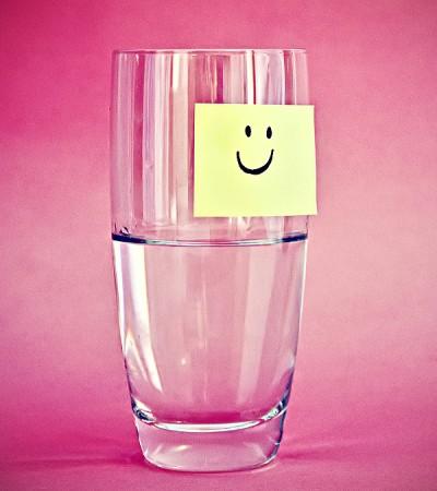 Et halvfuldt glas, ikke halvtomt