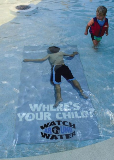 Watch Around Water - Where's your child?