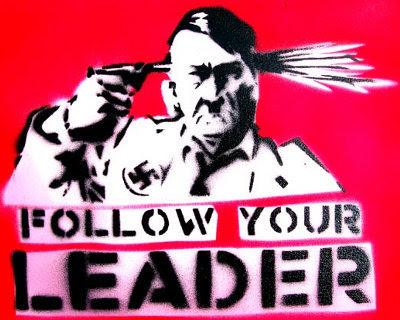Hitler selvmord - Hitler suicide - Follow your leader, Nazi
