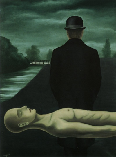René Magritte - The musings of a solitary walker