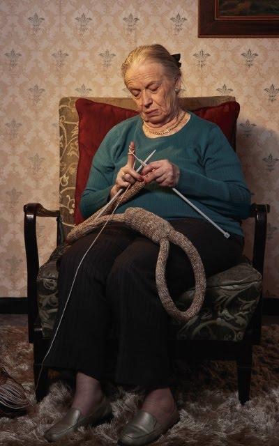 Kampagne billede fra Adam Le'Man om ældre-selvmord