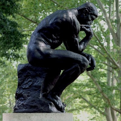 The Thinker / Le Penseur - by Auguste Rodin