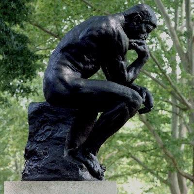 The Thinker / Le Penseur - by Auguste Rodin