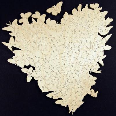 Wild Heart Butterflies (jigsaw puzzle) by Royce McClure