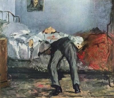 Édouard Manet - Le Suicidé / The Suicide