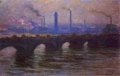 Claude Monet - Waterloo Bridge