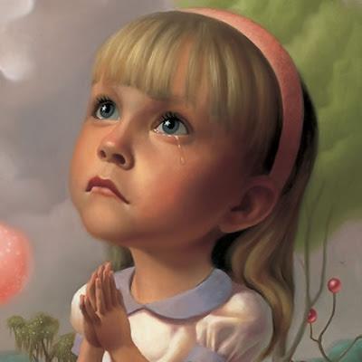 Lille pige beder til helgenen, Sankta Barbie Dukke