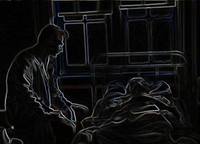 Dødsleje på hospitalet