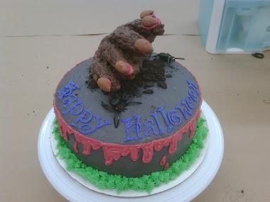 Halloween Figurine Cake