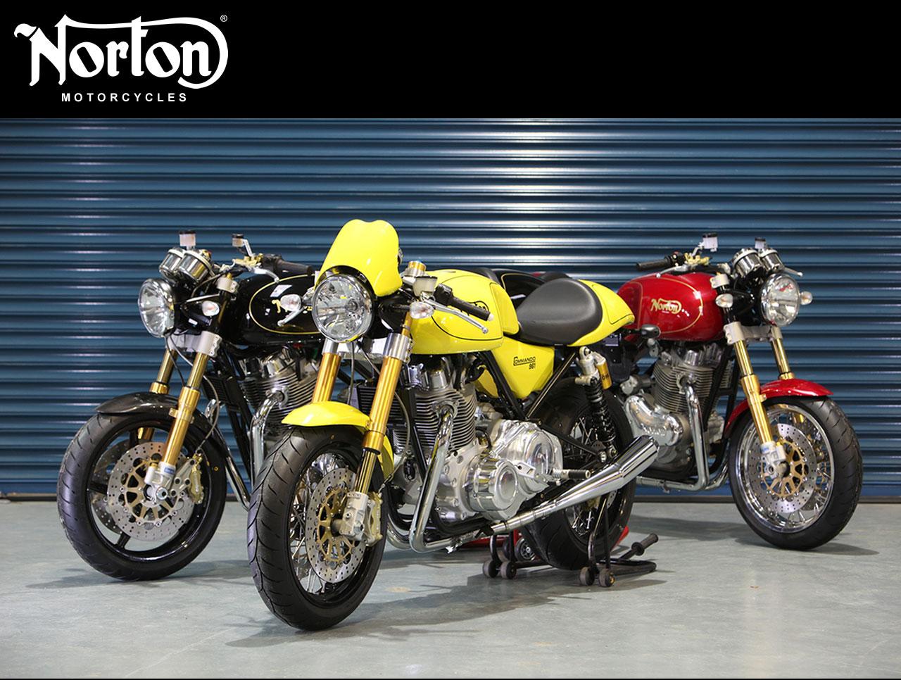 Tritones Biker Norton Motorcycles