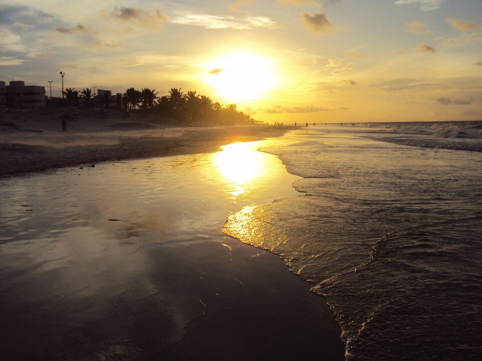 Pôr-do-sol na Ilha do Amor!