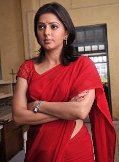 Bomika Chawla Indian Actress Bhumika_chawla_saree_thakita_thakita_03
