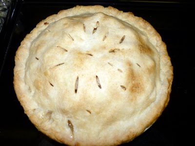 apple pie filling. Here is a simple apple pie