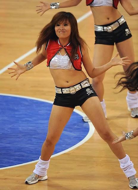 Asian girl cheerleader commit