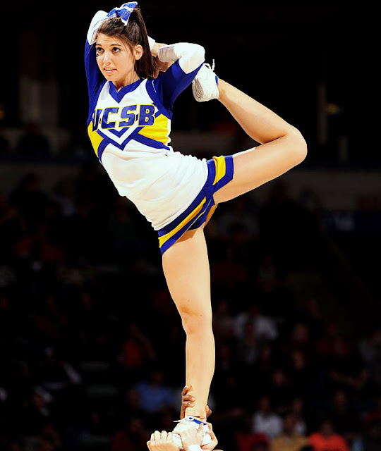 Cheer Heaven — Flexible UC Santa Barbara Cheerleader