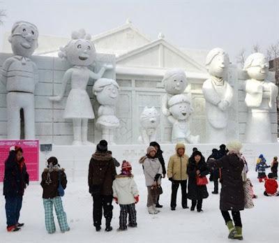 Sapporo Snow Festival 2011 Familia
