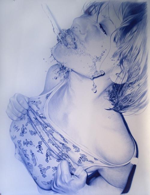 ballpoint pen drawings - photo #7