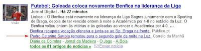 O Benfas contratou o irmão do Conejo
