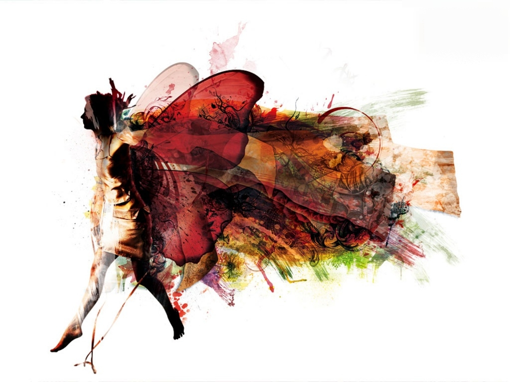 """A felicidade está nas asas de uma borboleta """