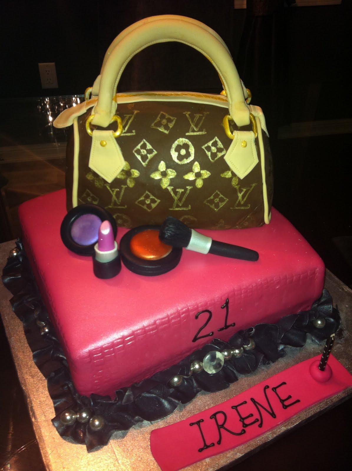 Jocelyns Wedding Cakes And More Louis Vuitton Purse Cake