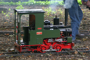 Rack steam loco