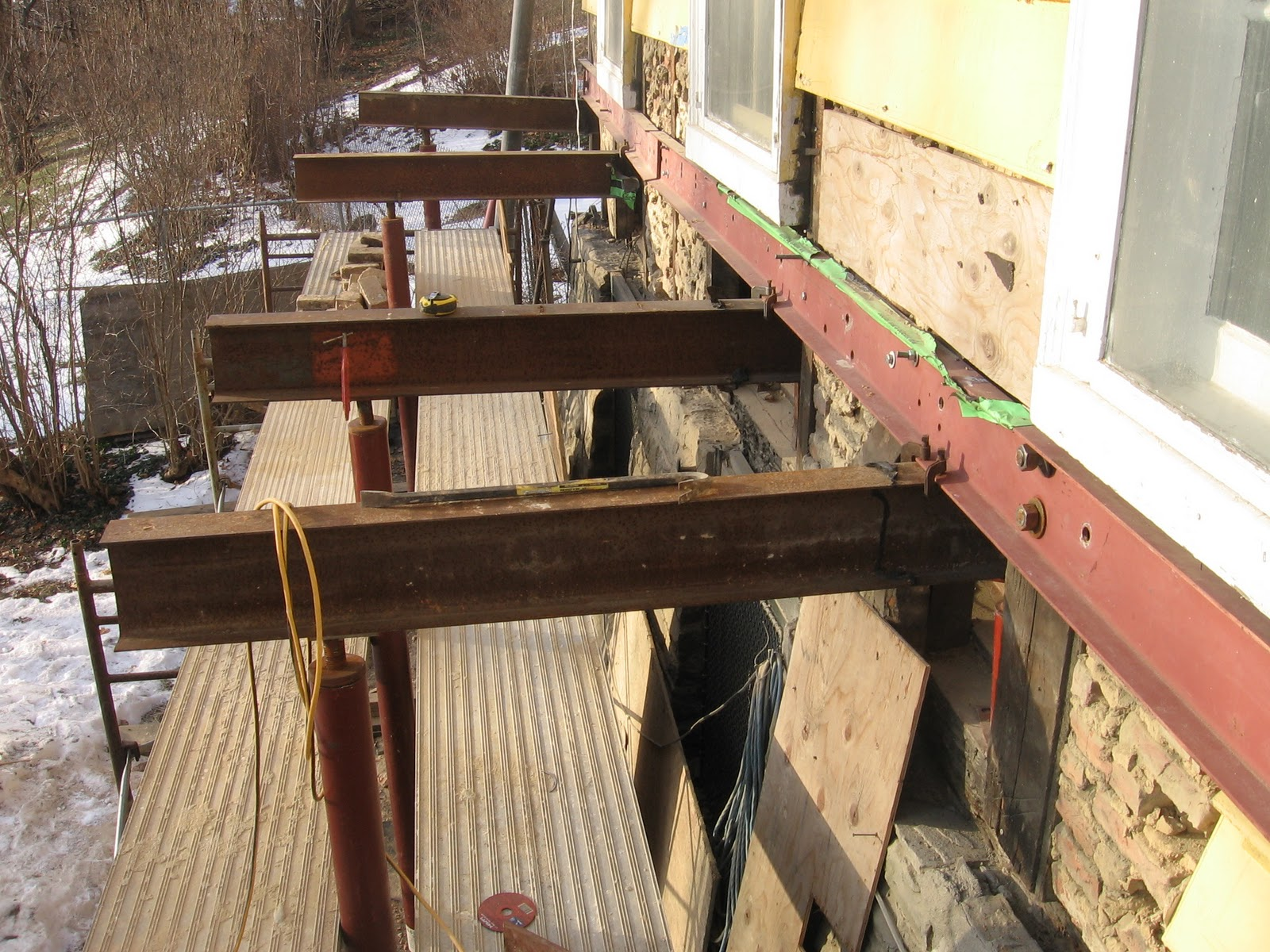 Needle Beam Shoring For Wall : The ultimate home improvement project january