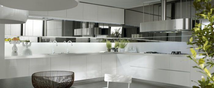 Интерьеры красивый дизайн современной кухни