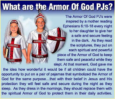 the armor of god picture. Armor of God Pajamas