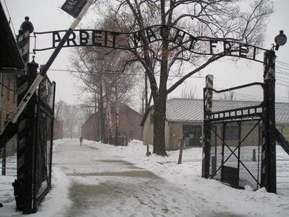 Libération du camp d'Auschwitz-Birkenau