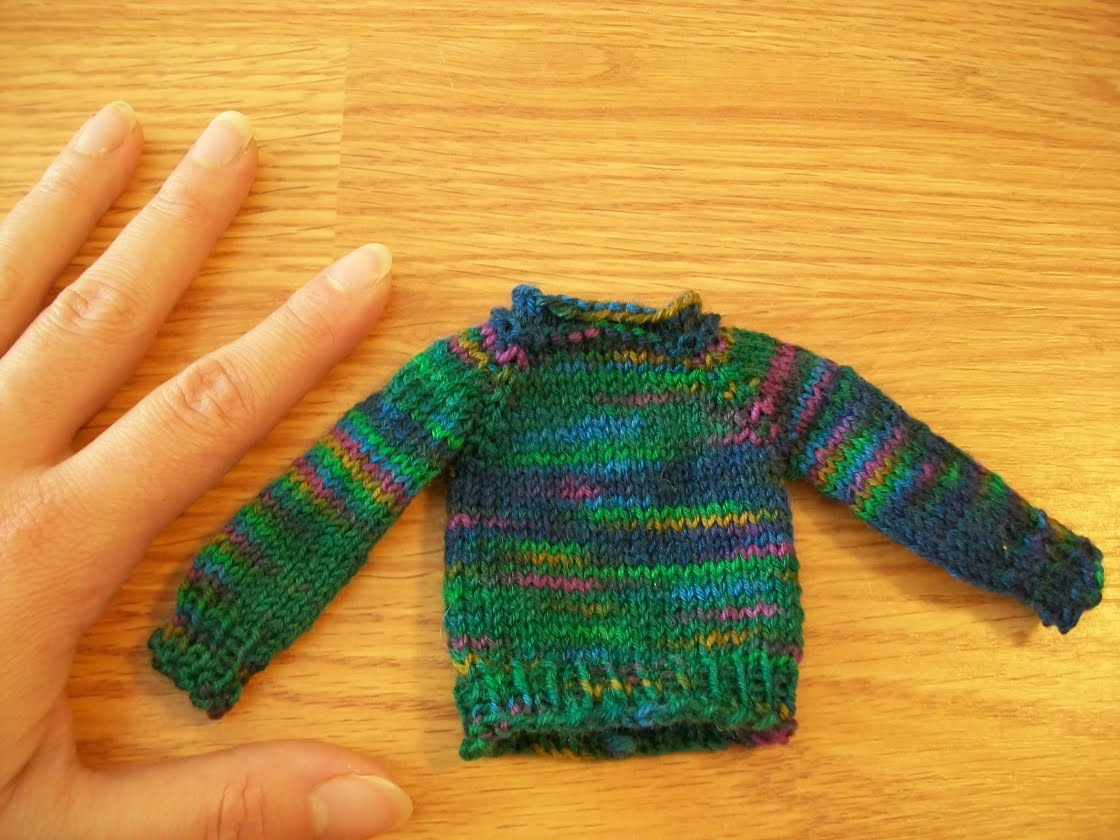 how to make a big sweater smaller