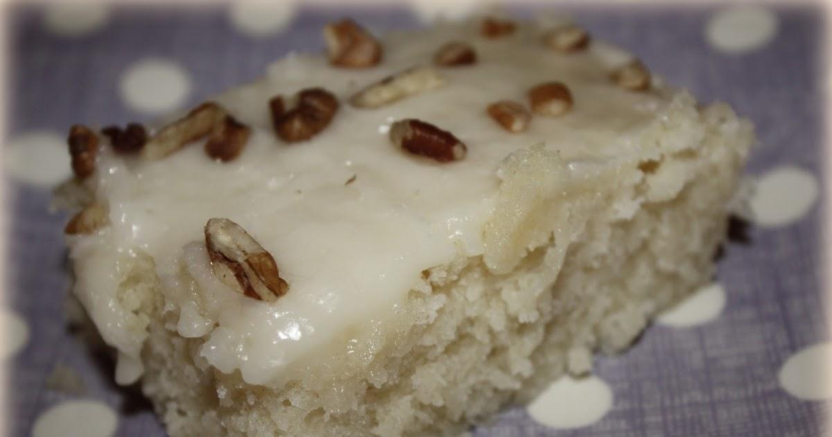 Mcconkie Menu White Texas Sheet Cake