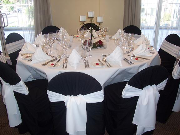 TABLE CLOTH & CHAIR COVERS