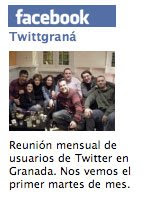 Twittgrana en facebook