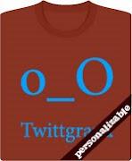 Camiseta twittgraná