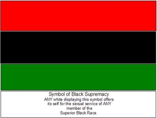 Symbol of Black Supremacy