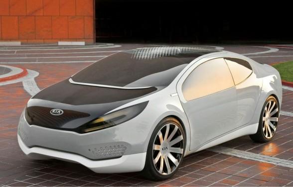2010 Kia Ray Plug-in Hybrid Concept trendy concept