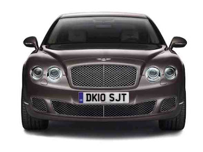 Luxury Car 2010 Bentley Continental Flying Spur Speed China wallpaper
