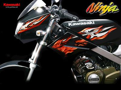 wallpaper ninja. Kawasaki Ninja RR