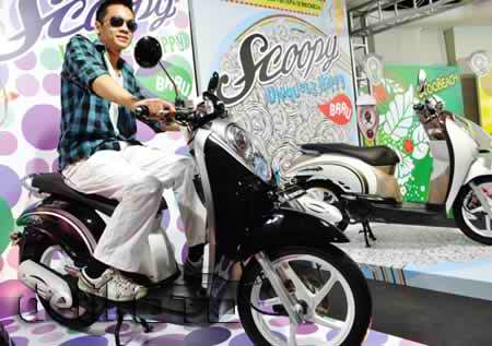 gambar Modification Honda Retro Scoopy