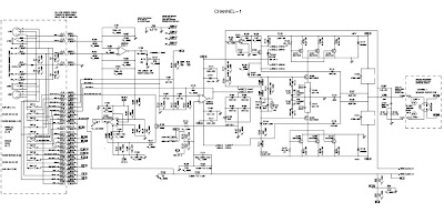 Electronic scheme of Behringer EP1500-2500