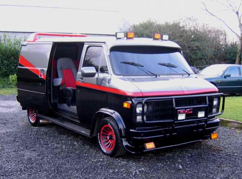 gmc g20 vandura 1980 the a team car and style. Black Bedroom Furniture Sets. Home Design Ideas
