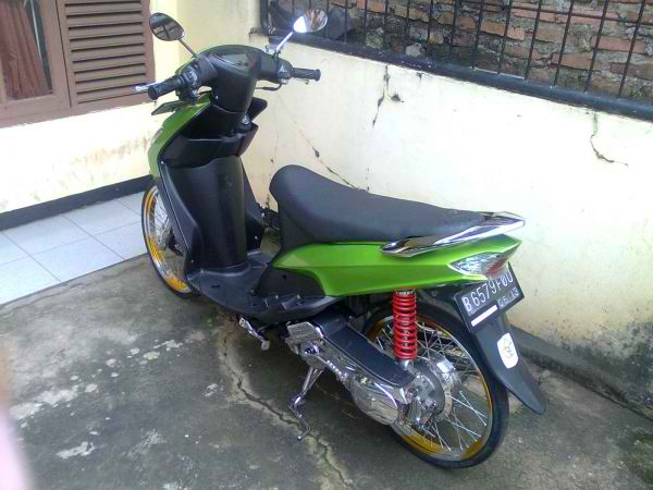 referensi modifikasi mio sporty velg jari